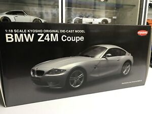 Kyosho 1/18 BMW Z4M coupe in silver diecast