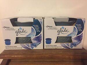 2x glade wax melts