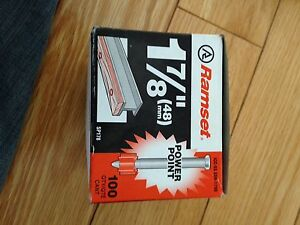 Ramset Package (Brand New, not used)