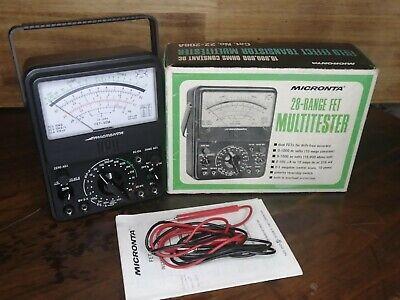 Micronta Multimeter 28 Range Fet Multitester