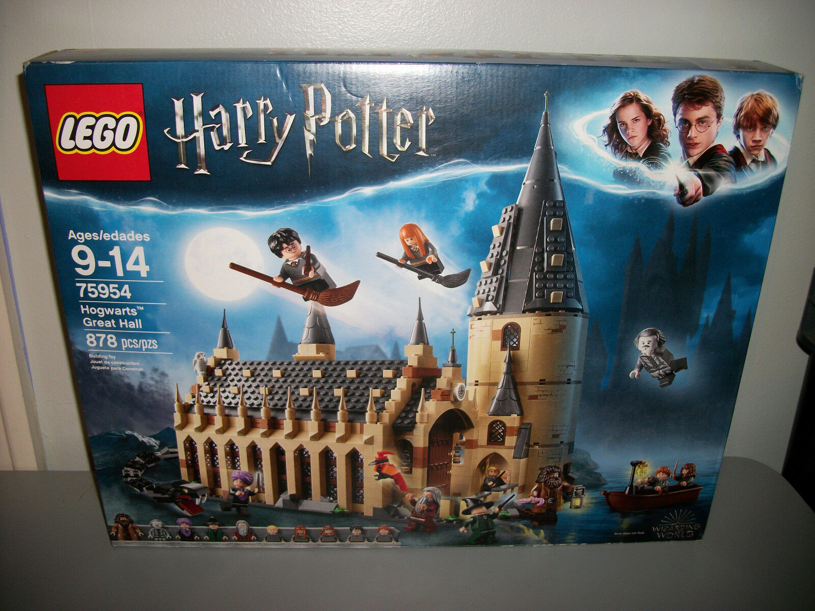 Lego Harry Potter 75954 Hogwarts Great Hall New Gift Toy Sea