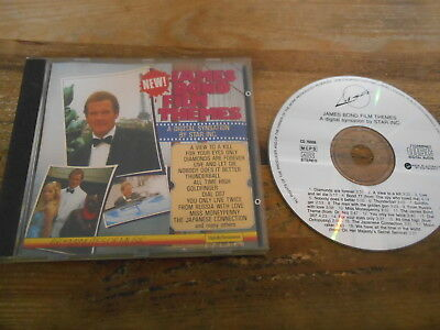 CD OST Ed Starink - James Bond 007 Film Themes (18 Song) LASER REC AUSTRALIA jc James Bond Movie Songs