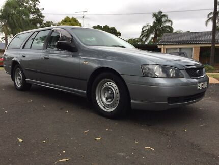 2003 FORD FALCON BA XT WAGON AUTO LOW KM Camden Camden Area Preview