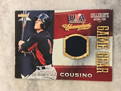 2013 USA Baseball Champions Game Gear Jerseys Austin Cousino #29