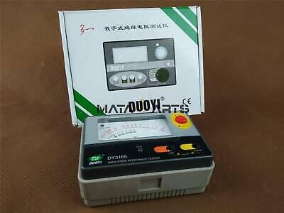 Megger Megohm Meter Dc500v Ac600v 1km Ohm Dy3165 Amm Analogue Insulation Tester