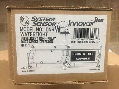 System Sensor Dnrw Intelligent Non-relay Duct Smoke Detector Watertight