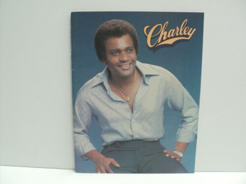 Charley Pride Souvenir Book SIGNED 20 Pages Career Story & Pictures RARE!