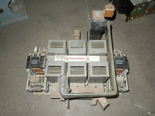 Sylvania T77U036 NEMA Size 6 Contactor 150/200/400HP 200/230/460V 208V Coil Used