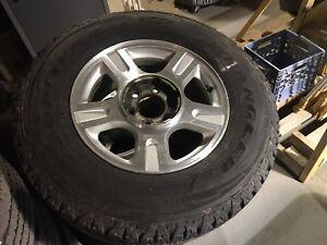 Pneu d hiver avec mag F-150 Ford