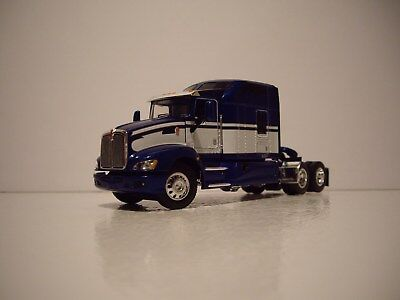 Dcp 1 64 Blue And White Kenworth T660 With 86 Mid Roof Studio Sleeper