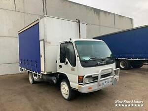 Isuzu NQR 6 Pallet Curtainsider with Tailgate Campbellfield Hume Area Preview