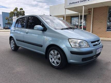 2004 HYUNDAI GETZ GL  EXCELLENT CONDITION  WARRANTY APPLICABLE Kenwick Gosnells Area Preview