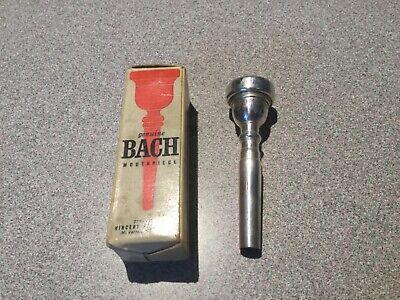 Genuine Silver Bach 6C Trumpet Mouthpiece NEW