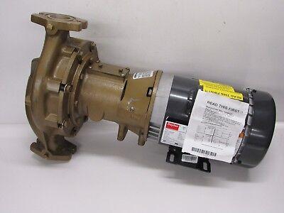Armstrong Bronze Hot Water Circulating Pump H-64-1 Lfb 34 Hp Motor
