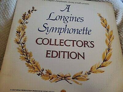 A LONGINES SYMPHONETTE  COLLECTORS EDITION LP Vinyl Ex Sleeve G