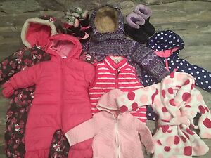 Baby Girl Complete Wardrobe sizes NB - 3T