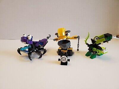 LEGO Mixels Series 3 Glurt 41519, Wizwuz 41526 & series 6 Forx 41546 100%