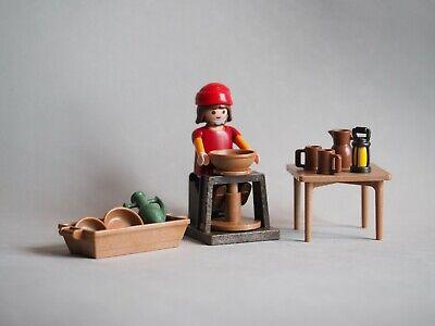 PLAYMOBIL Alfarero, Pottery, Belen, Portal, Navidad, Christmas, Medieval NUEVO