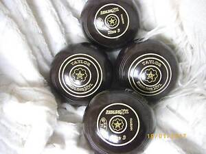 taylor xtl lawn bowls,SUPER LEAD OR SECONDS BOWLS, size3 year 16 Greystanes Parramatta Area Preview