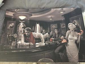 Cadre BOUCLAIR Elvis Presley, Marilyn Monroe... 70$