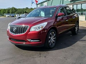 2017 Buick Enclave Leather POWER LIFTGATE/LEATHER/SUNROOF/HEA...