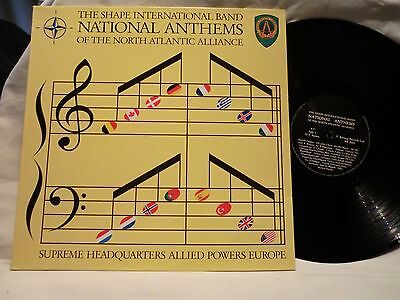Shape International Band  National Anthems  North Atlantic Alliance  1990 Lp