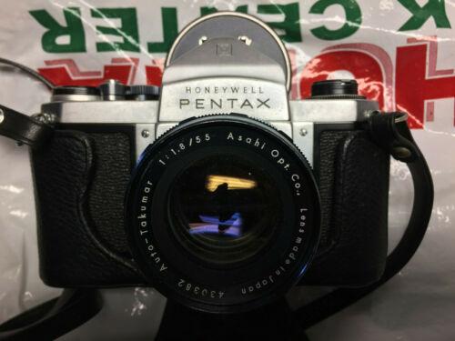 Honeywell Pentax H3 SLR camera and extras