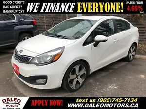 2014 Kia Rio SX | FULLY LOADED | LEATHER | BACKUP CAM