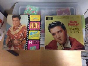 FS Two Vintage Elvis Records