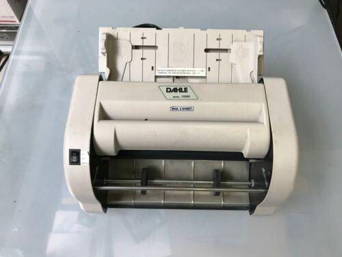 Dahle High Speed Paper Folder Model 10560