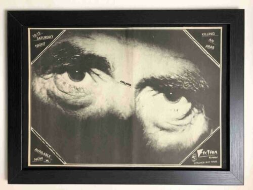 THE CURE - Killing an Arab - Framed 1979 A3 Vintage Advert / Poster