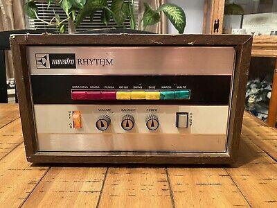 Vintage Gibson Maestro MRK-3 Rhythm Queen Drum Machine. TESTED, WORKS GREAT