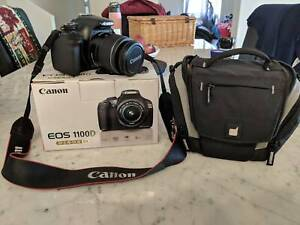 Canon EOS 1100D and Carrying Bag