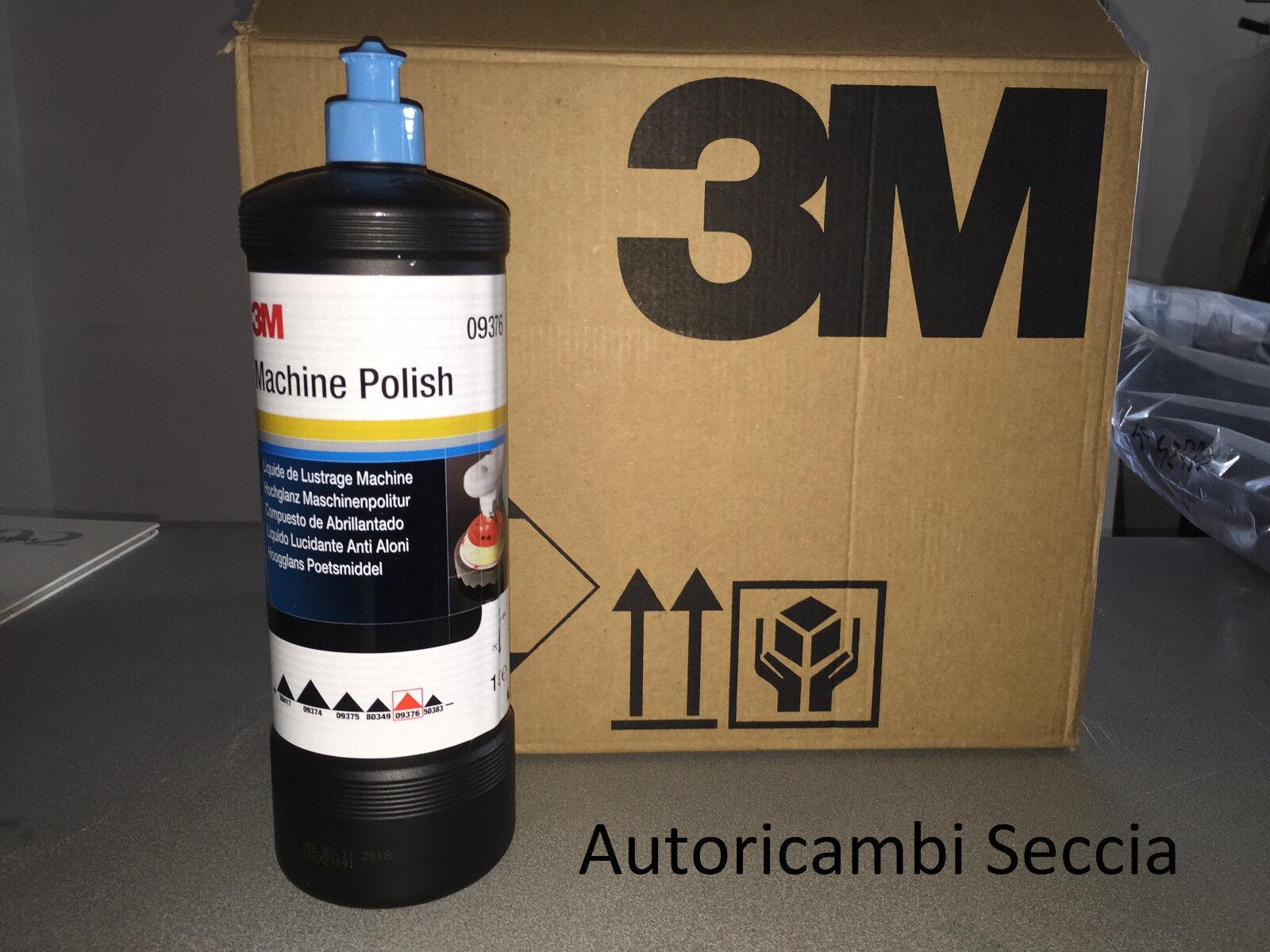 3M polish abrasivo anti aloni 09376 per lucidatura carrozzeria auto cera da 1 lt