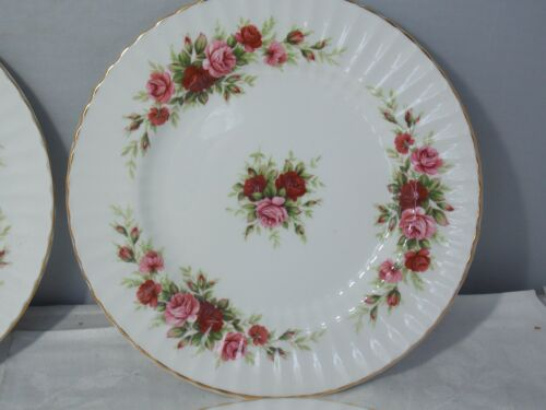 "Royal Standard ""English Rose Pattern"" Bone China Salad/Dessert Plate"