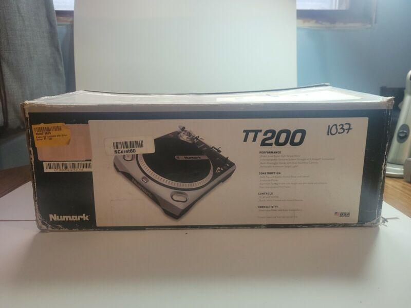 Numark TT200 Professional Direct-drive Hi-Torque Battle Club DJ Turntable - NEW