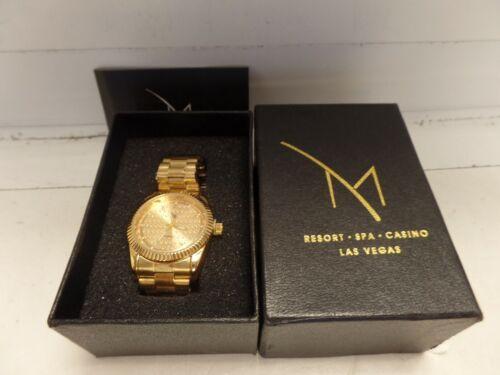 M Resort, Spa and Casino LAS VEGAS MENS DIAMOND Watch  BRAND NEW