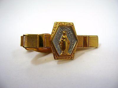 Vintage Tie Bar Clip: Mary Mother of Jesus Religious Christian - Mary Mother Of Jesus Costume