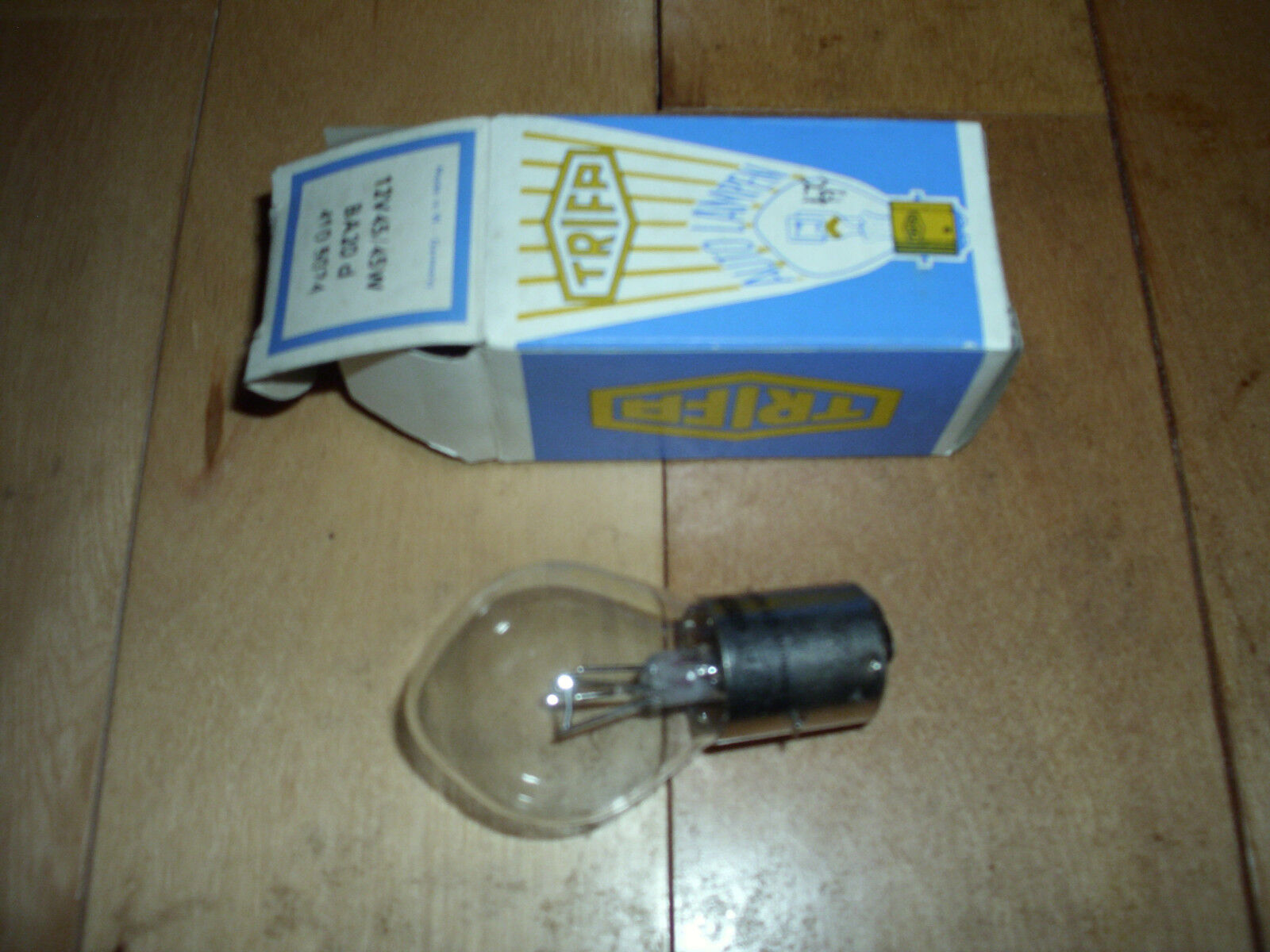 Vintage Snowmobile Ski Doo 12 Volt 45/45 Watt Head Light Bulb NEW OEM 410502400