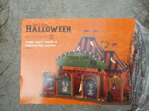 DEPT 56 Halloween TRAVIS LOUIE