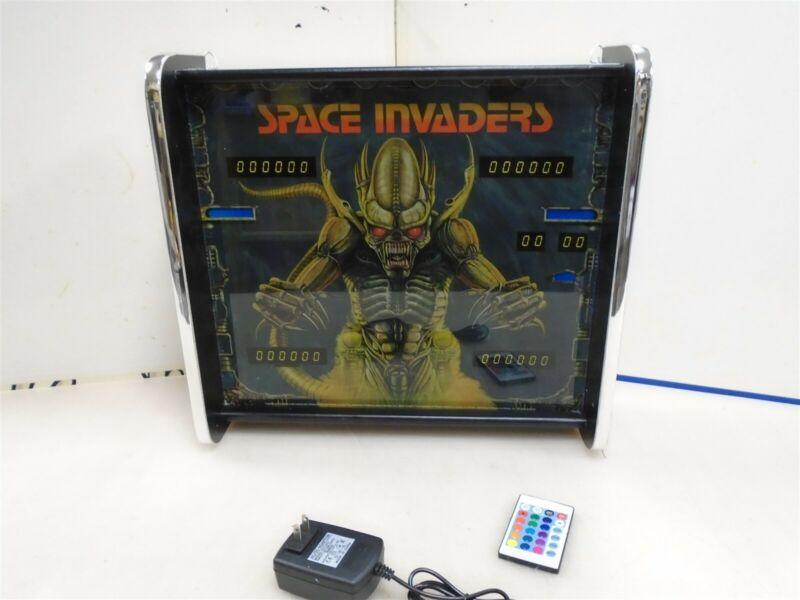 Bally Space Invaders Pinball Head LED Display light box
