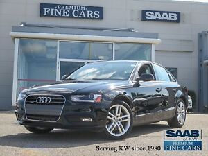 2013 Audi A4 Navigation  ONE OWNER