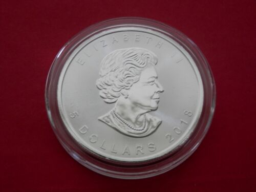 2018 Canadian Maple Leaf 1 oz. Silver Coin BU