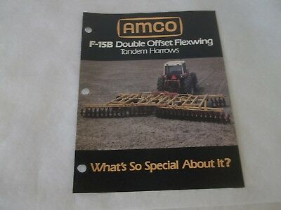 Amco F-15b Double Offset Flexwing Tandem Harrows