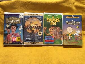 VHS Movies - 32 sealed cassettes - Many are Disney titles