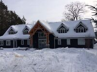 Fully insured! Roof shovelling! Plowing