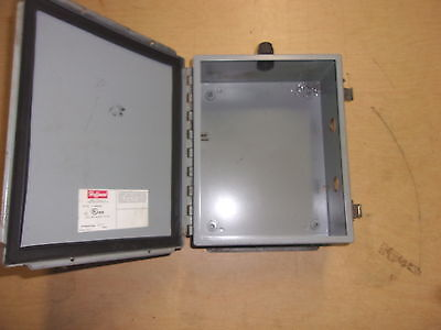 Used Hoffman Electrical Enclosure Box K-1756 Free Shipping