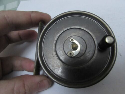 """A1 vintage hardy alnwick uniqua dup MKII trout fly fishing reel 3 + 1/8ths"""" ."""