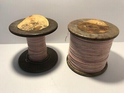 Enameled Wire In Silk Insulation Coil Winding Transformer Rewind Ussr Copper Coi