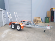 Galvanized Tilt Excavator Trailer ATM 2800kg Coomera Gold Coast North Preview